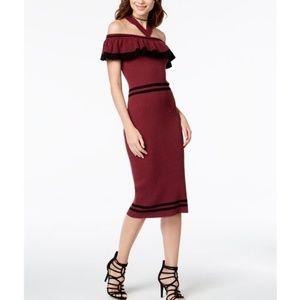 XOXO Ruffled Sweater Dress